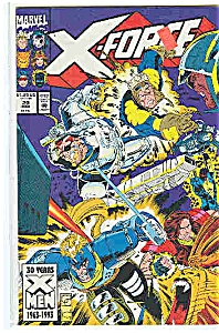 X-Force - Marvel comics - # 20  March 1993 (Image1)