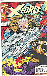 X-Force - Marvelcomics = # 28 Nov. 1993 (Image1)