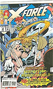 X-Force - Marvel comics - # 29  Dec. 1993 (Image1)