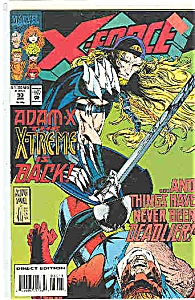 X-Force - Marvel comics - # 30  Jan. 1994 (Image1)