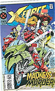X-Force - Marvel comics - # 40 Nov. 1994 (Image1)