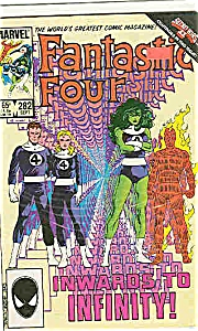 Fantastic Four - Marvel comics - # 282 Sept. 1985 (Image1)