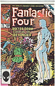 Fantastic Four - Marvel Comics - # 288 March 1986