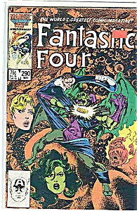 Fantastic Four - Marvel Comics - # 290 May 1986