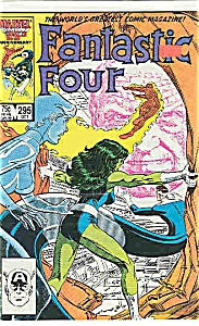 Fantastic Four - Marvel comics - # 295  Oct. 1986 (Image1)