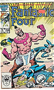 Fantastic Four - Marvel Comics - # 298 Jan. 1987