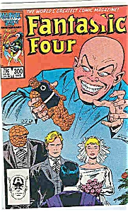 Fantastic Four -marvel Comics # 300march 1987