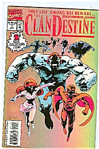 Clandestine - Marvel comics  # l  Oct. 1994 (Image1)