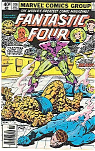 Fantastic Four - Marvel comics - # 206  May 1979 (Image1)