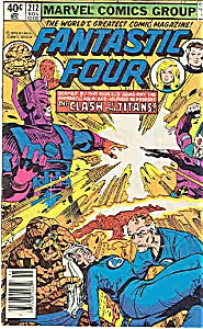 Fantastic Four - Marvel comics - # 212 Nov.  1979 (Image1)