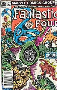 Fantastic Four - Marvel comics - # 246 Sept. 1982 (Image1)
