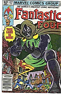 Fantastic Four - Marvel comics - # 247  Oct  1992 (Image1)