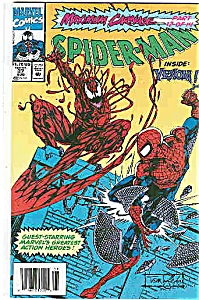 Spider-man - Marvel comics  #37 August  1993 (Image1)