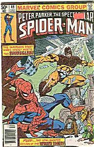 Spider-Man - Marvel comics - # 49  Dec. 1980 (Image1)