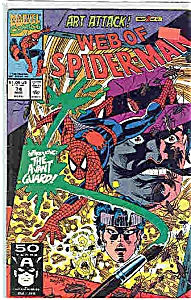 Web of Spiderman - Marvel comics - # 74  March  1991 (Image1)