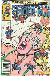 Spider-Man - Marvel comics - # 74  Jan. 1983 (Image1)
