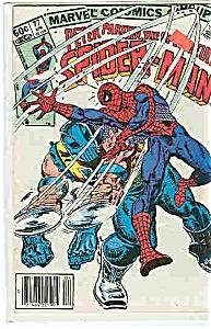 Spider-Man - Marvelcomics - # 77 April 1983 (Image1)