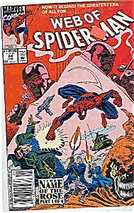 Web of Spider-Man - marvel comics - # 84 Jan.  1992 (Image1)