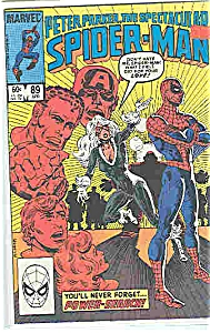 Spider-Man, Marvel comics - # 89  April  1984 (Image1)