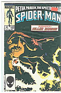 Spider-Man - Marvel comics = # 102 - May 1985 (Image1)