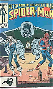 Spider-Man - Marvel comics - # 98  Jan. 1985 (Image1)