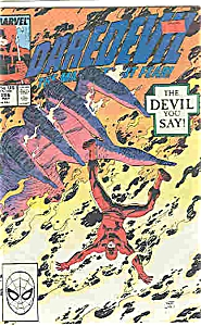 Daredevil - marvel comics - # 266   May 1989 (Image1)