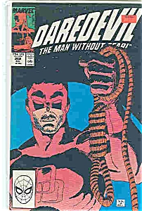 Daredevil - Marvel comics - # 268  July 1989 (Image1)