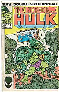 Hulk - Marvel comics - # 14  - 1985  - Annual (Image1)