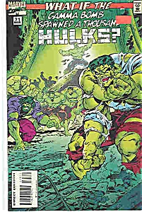 Hulk - Marvel comic - # 71  March 1995 (Image1)