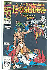 Excalibur - Marvel Coics - # 19 Feb. 1990
