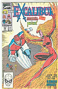 Excalibur - Marvel Comics - # 20 March 1990