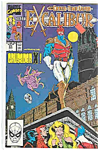 Excalibur - Marvel Comics - # 21 April 1990