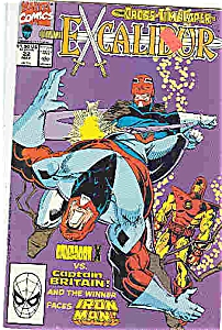 Excalibur - Marvel Comics - # 22 May 1990