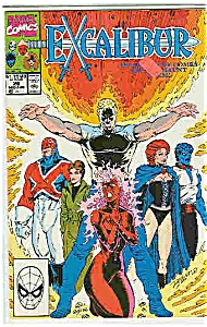 Excalibur - Marvel comics# 26 Mid Aug. 1990 (Image1)