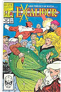 Excalibur - Marvel Comics - # 28 Sept. 1990