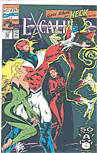 Excalibur - Marvel comics  # 33 Jan.1991 (Image1)