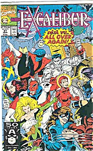 Excalibur - Marvel comics - # 41 = Sept. 1991 (Image1)