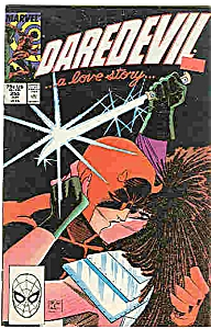 Daredevil - Marvel comics - # 255 June 1988 (Image1)