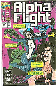 Alpha Flight - Marvel Comics - # 95 April 1991