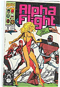 Alpha Flight - Marvel comics - # 97 June 1991 (Image1)