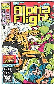 Alpha Flight - Marvel Comics - # 98 July 1991
