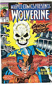 Wolverine and Ghost Rider - Marvel comics-#70  1991 (Image1)
