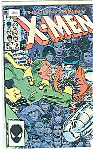 The Uncanny X-Men - Marvel comics -#191  1975 March (Image1)