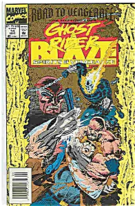 Ghost Rider B laze -Marvel comics - # 14 Sept.1993 (Image1)