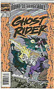 Ghost Rider - Marvel comics - # 41 Sept. 1993 (Image1)