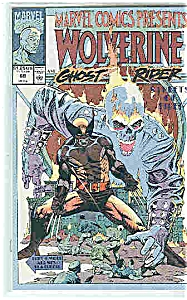 Wolverine & Ghost Rider - # 69 Marvel Comics - 1991