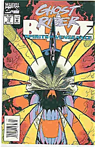 Ghost Rider Blaze - Marvel comics - # 12July 1993 (Image1)