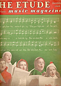 The Etude Music magazine-    December 1942 (Image1)