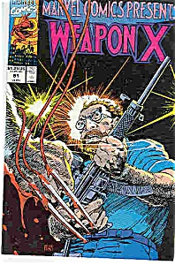 Weapon X-    Marvel comics -    # 81     1991 (Image1)