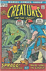 Creatures on the Loose! =Marvel comics # 15 Jan. 1975 (Image1)